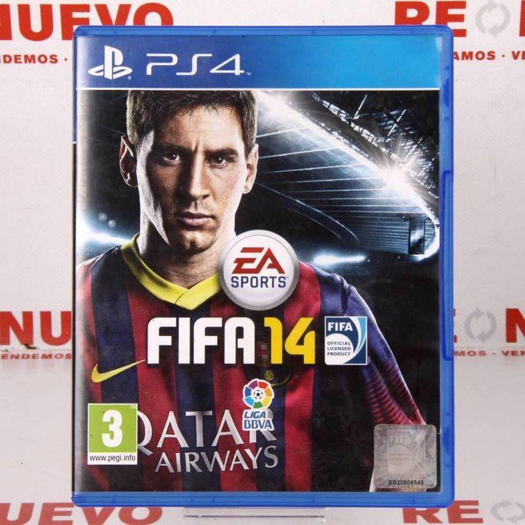 #FIFA 14 para #PS4 de segunda mano E272357   Tienda online de segunda mano en Barcelona Re-Nuevo #segundamano