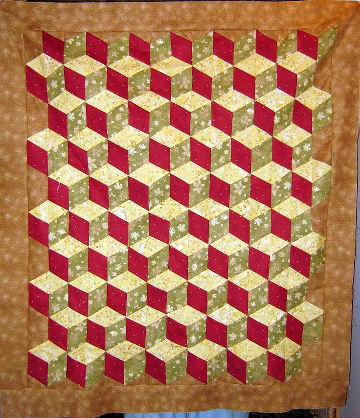 Easy Quilt Baby Blocks Tutorial Quilts/ Baby Pinterest