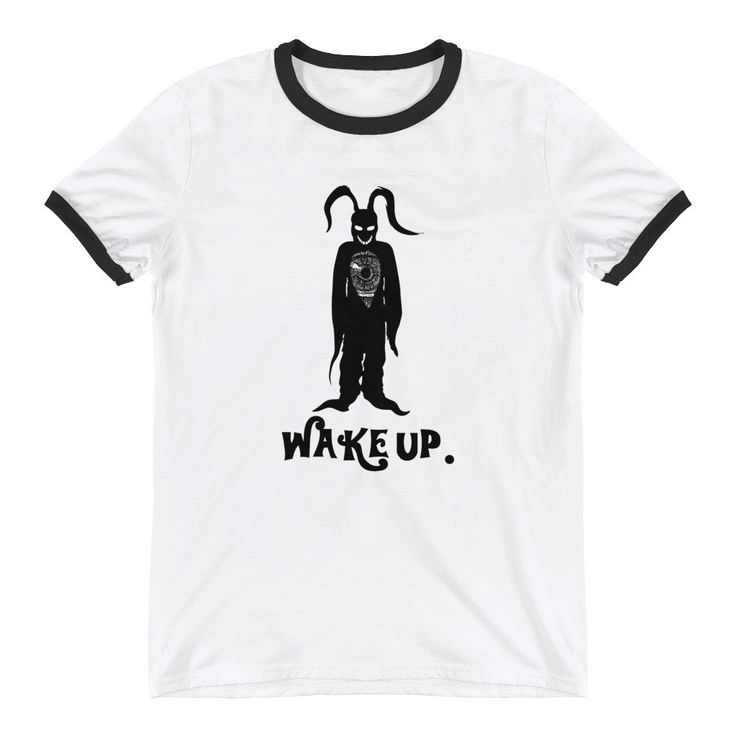 Donnie Darko - Frank The Rabbit Tee - Shirt - Frank - Bunny - They Made Me Do It - Indie - Cult Classic - Graphic Tees - Ringer T-Shirt https://www.etsy.com/listing/599258735/donnie-darko-frank-the-rabbit-tee-shirt?utm_campaign=crowdfire&utm_content=crowdfire&utm_medium=social&utm_source=pinterest