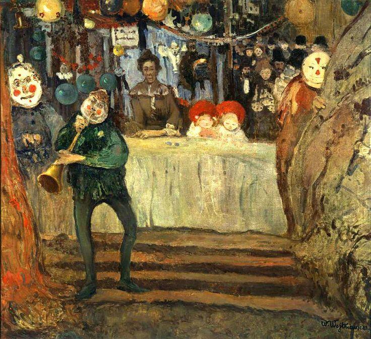 Witold Wojtkiewicz, The Circus, 1906