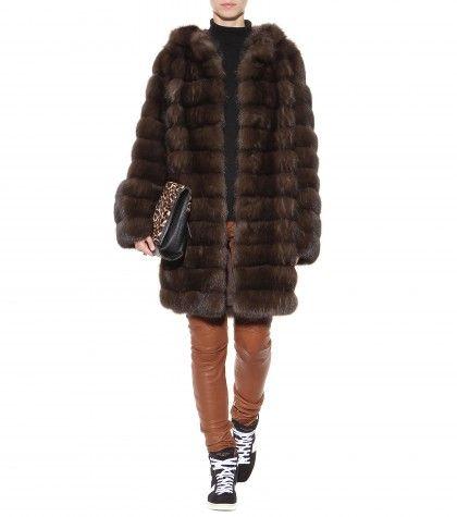 Manzoni 24 - Barguzin Sable fur hooded coat  - mytheresa.com GmbH