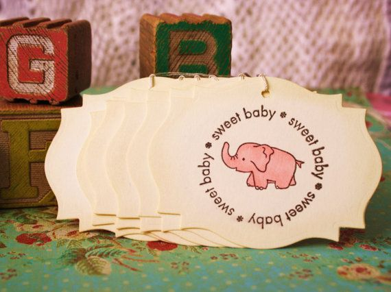 Baby Shower Wish Tree Tags Gift Tags Sweet by asweetlittlenote