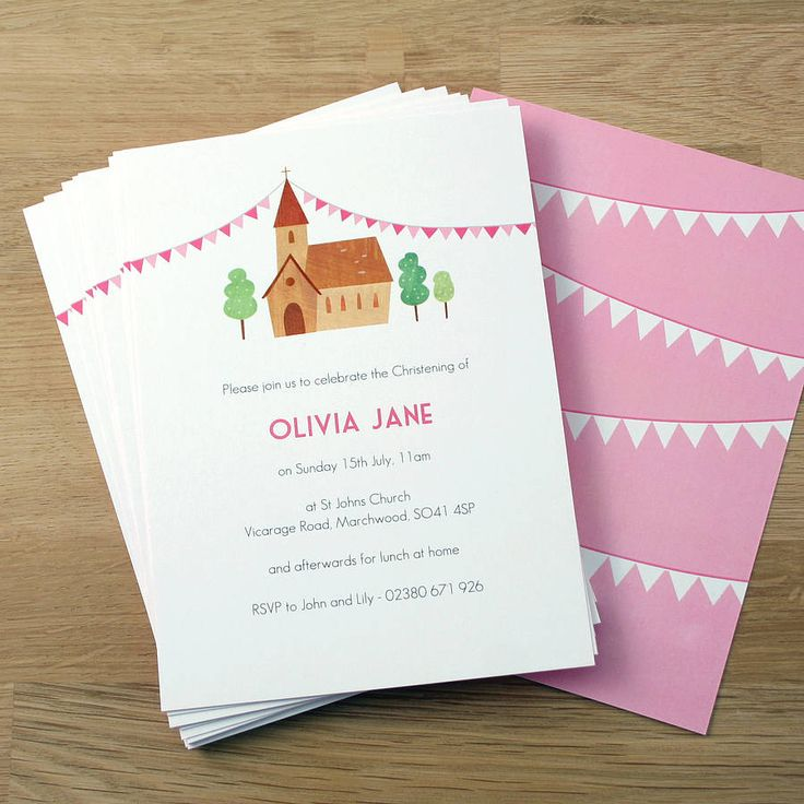 Personalised Girlu0027s Christening Invitations 11 best Lucyu0027s