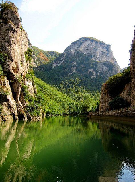 Furlo Gorge, Marche, Italy