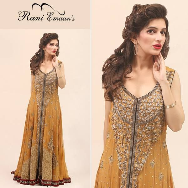 Rani Emaan Formal Long Bridal Dresses http://clothingpk.blogspot.com/2015/07/rani-emaan-formal-long-bridal-dresses-for-women.html