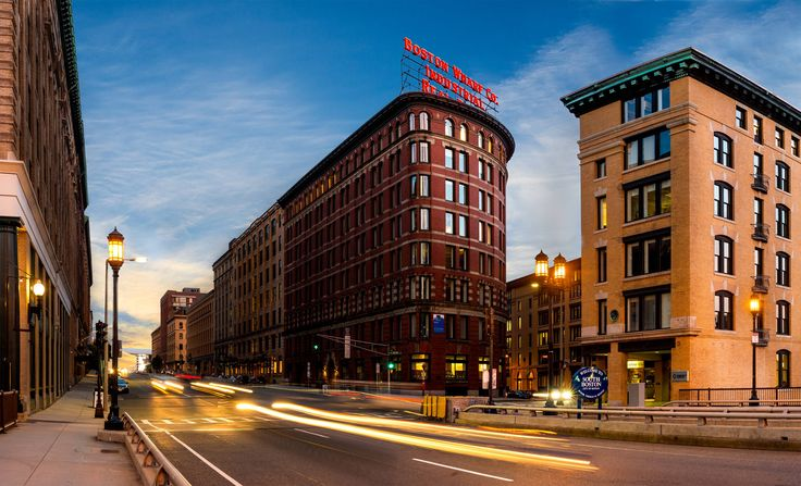 [2840x1727] Boston Wharf Co. building in downtown Boston MA [OC]
