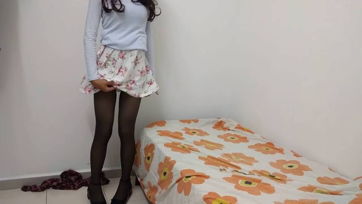Crossdresser   Touching Myself 2