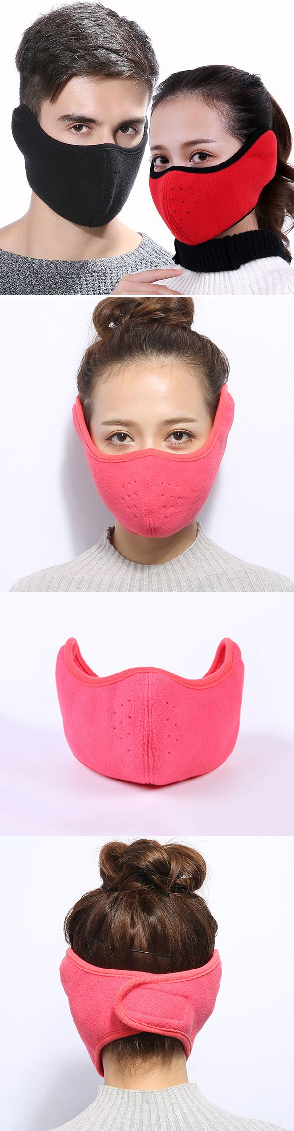 Men&Women Cotton Reusable Mouth Mask: Dustproof /Multiple Colors #outdoors #outfits