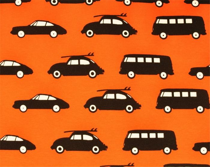 Ohlssons Tyger - - Mjuka tyger - Trikå Bilar