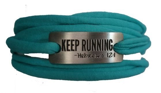 Keep running Sweat away bracelets have been popular replacements to those plain towel wraps as a runner's bracelet.it is functional and can be used during trainings or races.ultra-light and almost like the designer jewelry of the running scene.