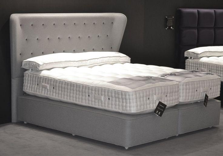 10 images about boxspring skandinavisch on pinterest upholstered bed frame stockholm and tes. Black Bedroom Furniture Sets. Home Design Ideas