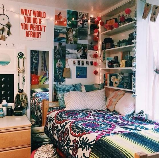 15 süßeste Zimmer im Boho-Schlafsaal auf Pinterest, die Sie kopieren müssen