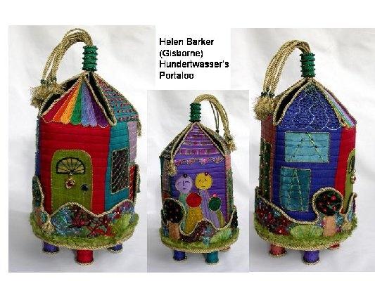 Hundertwasser's portaloo - Helen Baker