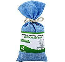 BUY MORE SAVE MORE Great Value SG Bamboo Charcoal Deodorizer Bag, Best Air Purifiers for Smokers & Allergies, Perfect Car Air Fresheners, Remove Smells for Home & Bathroom (Sky Blue)