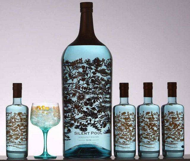 Silent Pool Gin Debuts World's largest and Most Expensive Gin, Priced at Almost $7,000
