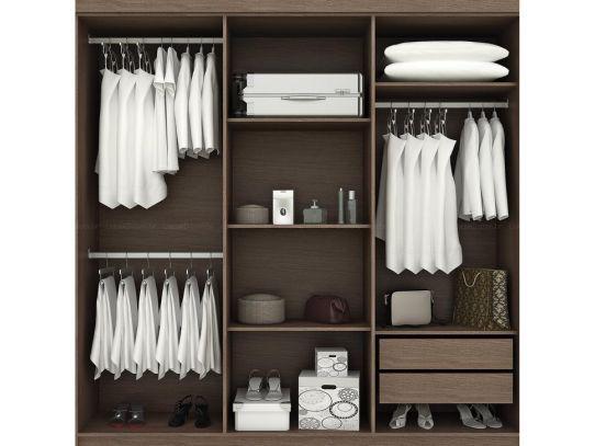 Como criar um Closet     É possível criar um closet facilmente a partir do uso de móveis modulados . Por isso reunimos 12 ideias para...