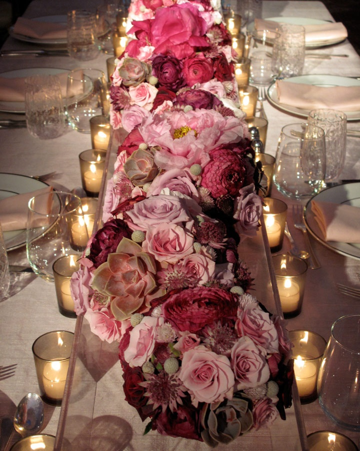 1000 Ideas About Rectangle Table Centerpieces On