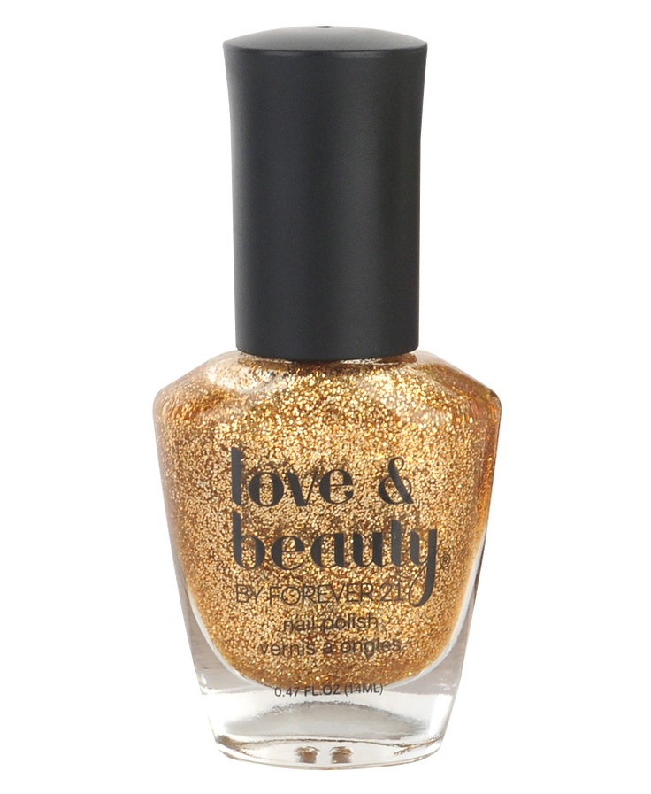 All that glitters is gold. (esmalte oro de Forever21): Gold Nail Polish, Gold Nails, Beauty Gold, Gold Glitter Nails, Nailpolish, Glitter Nail Polish, Glitter Gold, Forever21