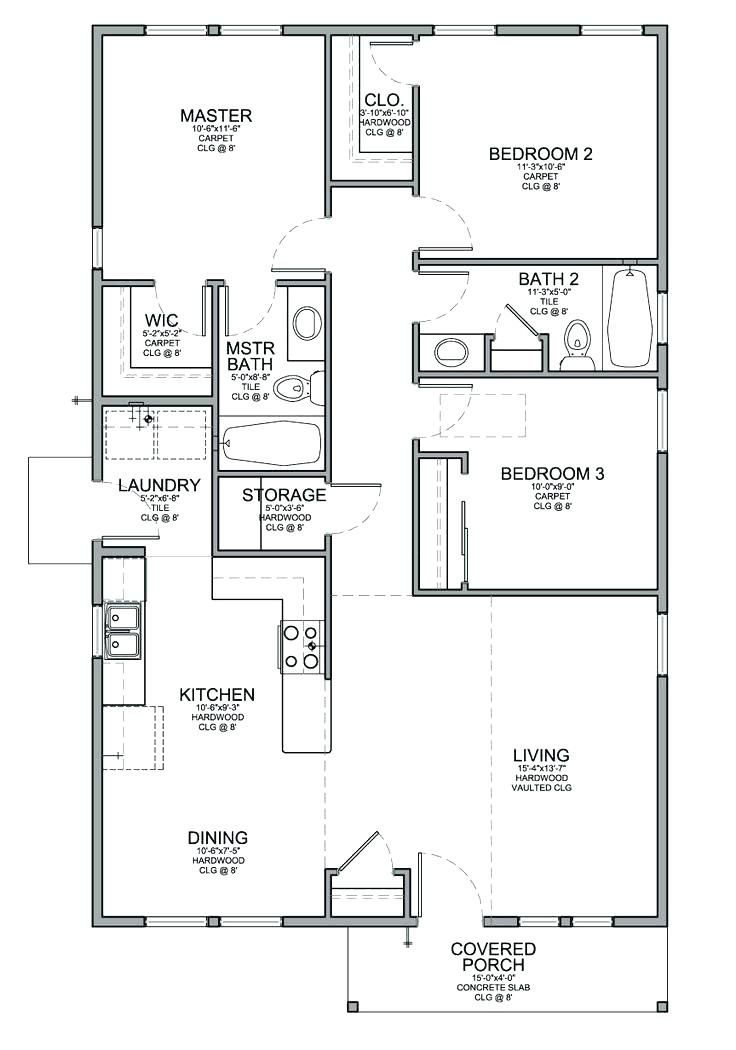 3 bedroom cabin plans - google search | floor plans in 2019 | house