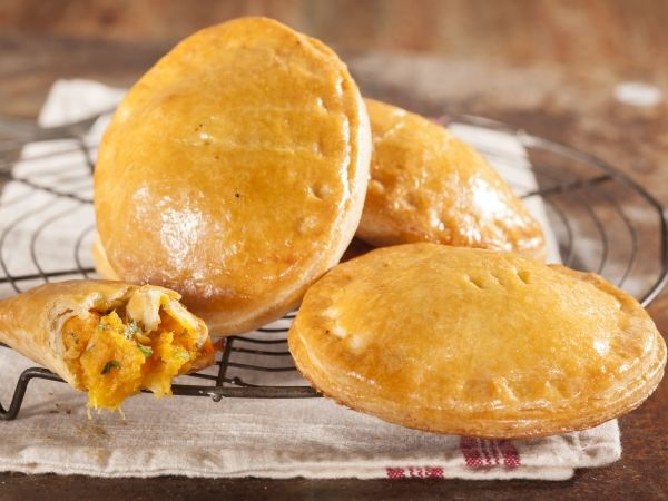 Sweet potato and butternut pies