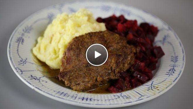 Aardappelpuree en rode bietjes met appel - recept | 24Kitchen