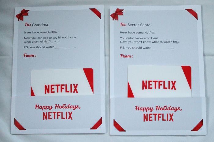 How To Get Free Netflix Gift Cards: