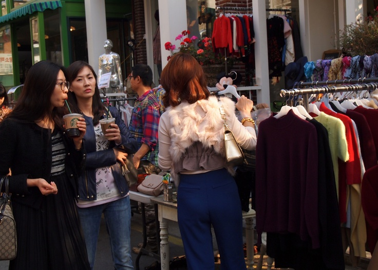 how to go to itaewon shopping street
