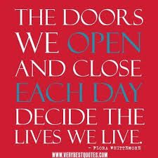 Quotes About Doors Fair Best 25 Quotes About Doors Ideas On Pinterest  Somethings Never