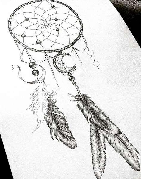Татуировка ловец снов: значение, фото, эскизы