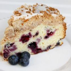 Blueberry Lemon coffee cake