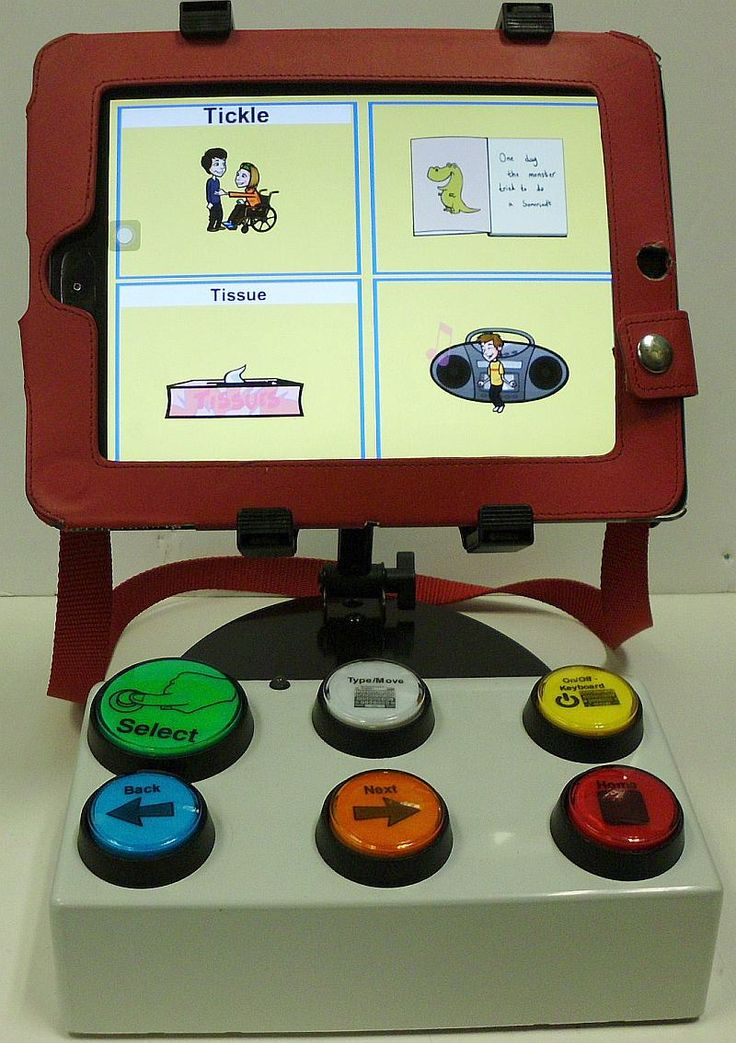 My iPad VO (VoiceOver) Controller connects to an i-device (iPad, iPhone, iPod Touch), through Bluetooth (a wireless technology), through an Accessibility feature that Apple generously included in the iOS (the iPhone Operating System on all iPhones, iPads, iPod Touches) for blind people, VoiceOver.