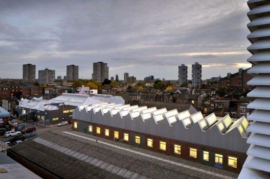 RCA Sackler Building - Haworth Tompkins