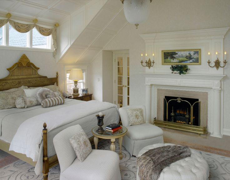 20 Beautiful Fireplace Screens in the Bedroom