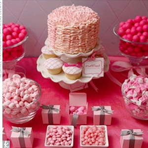 Bridal Shower? Adorable and pink!