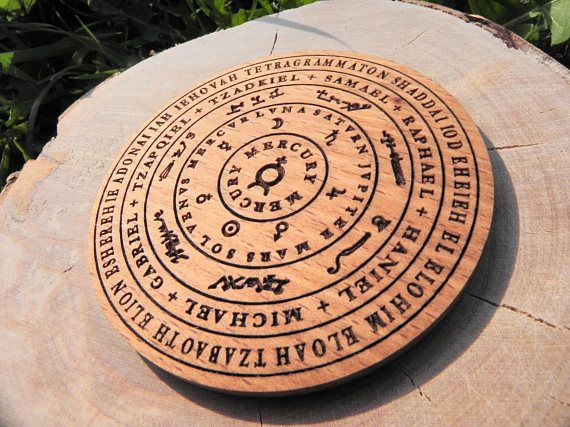 Magic Board or Magnet for home The planets the names of God