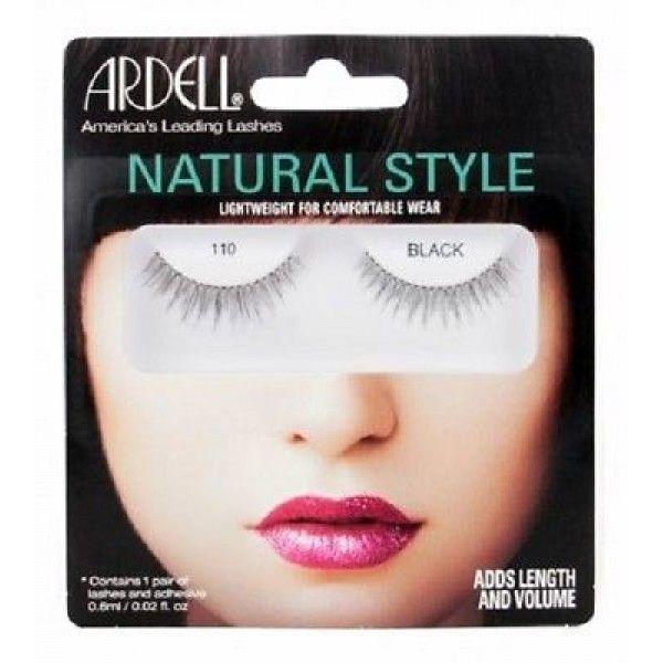 Βλεφαρίδες Ardell Natural Style Black. Eίναι ελαφριές, επαναχρησιμοποιήσιμες, εύκολες στην εφαρμογή τους και δίνουν το επιθυμητό, φυσικό λουκ των πλούσιων & όμορφων βλεφαρίδων. Αποκτήστε τες μόνο με 12,00€! #aromania #Ardell #ArdellNaturalStyle