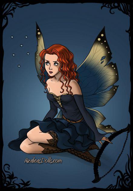 Merida as a Fairy by starrtobe93.deviantart.com on @DeviantArt