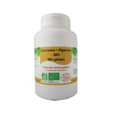 Curcuma piperine 180 gel