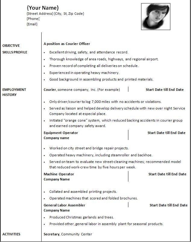 Letter Of Recommendation Format Business Letter Format Fax Cover Resume Setup Free Resume Template Word Microsoft Word Resume Template Resume Template Word