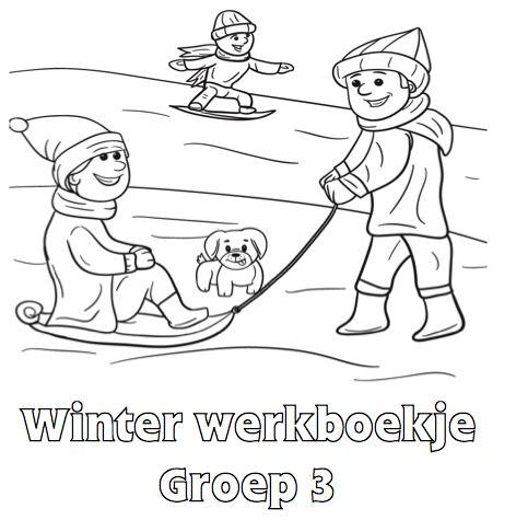 Winter Werkboekje Groep 3