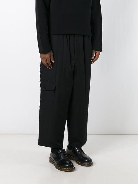 Yohji Yamamoto широкие брюки