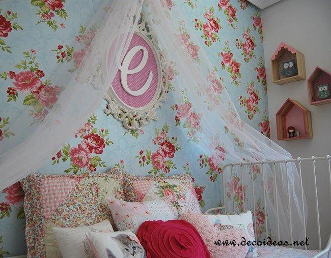 Habitaci n infantil femenina y rom ntica decoracion - Ikea habitacion infantil ...