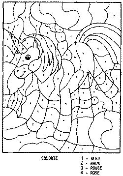 Coloriage codes chiffres num ros coloring pages - Coloriage a code ...