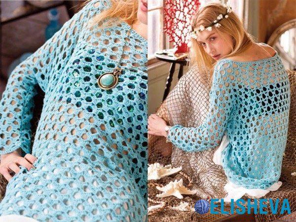 Красивые летние модели вязания крючком от VOGUE knitting   Блог elisheva.ru