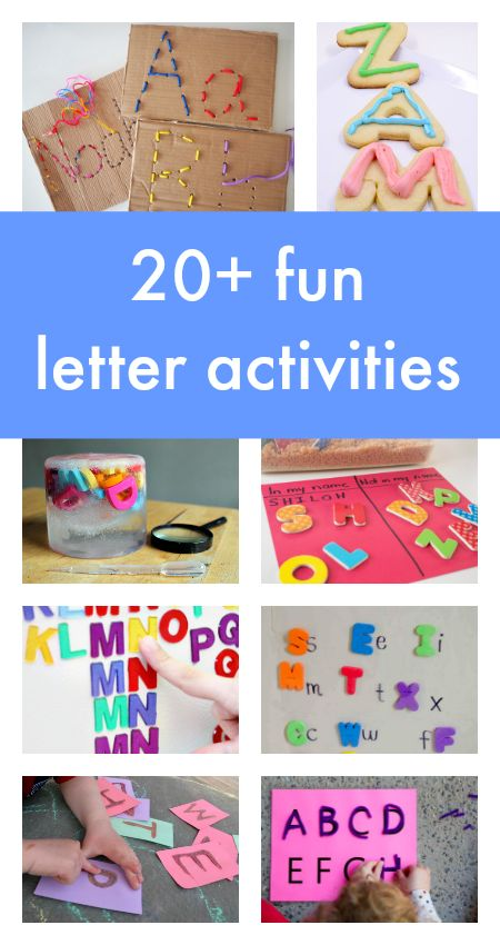 Letter activities for children with a focus on fun, play-based learning. Alphabet activities, learning letters, sensory sight word activities, spelling centers