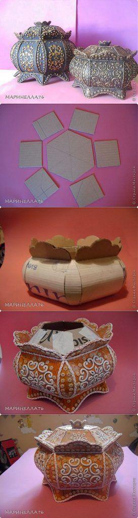 cardboard upcycling ideas