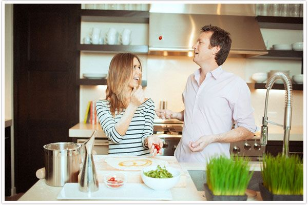 Image result for husband and wife cooking 600 x 400