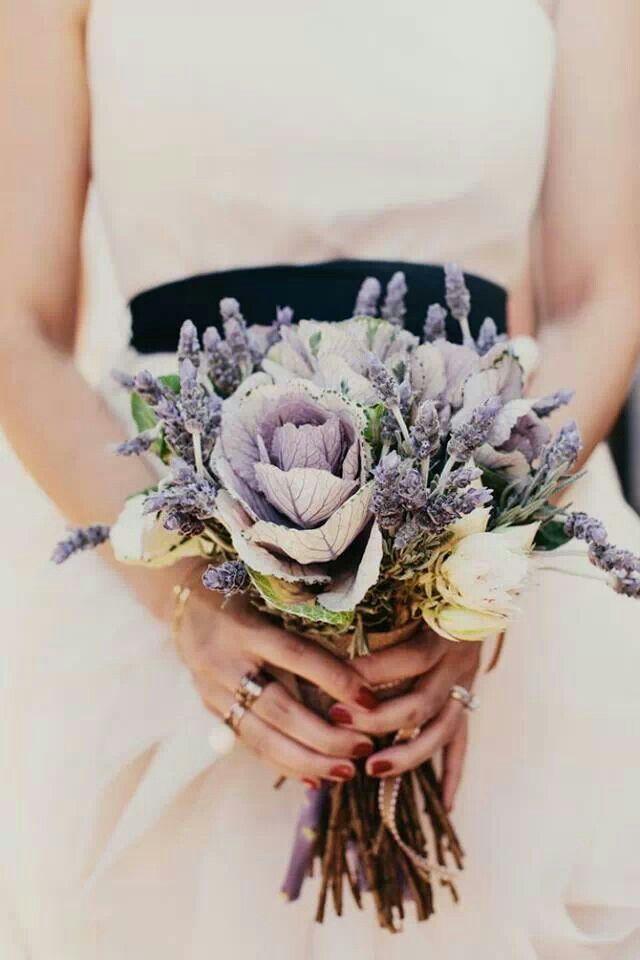 Bruidsboeket met Lavendel
