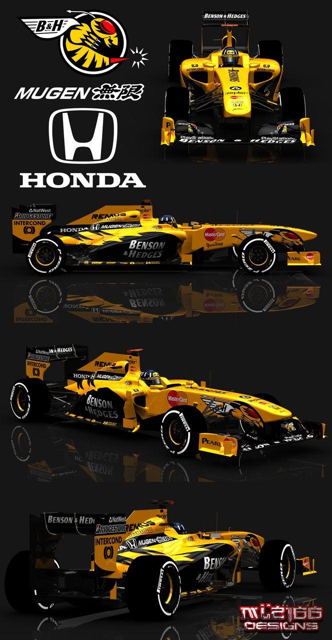 Damon Hill's Mugen Honda 1998