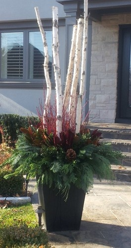 Great For Large Areas Christmas Planters Outdoor